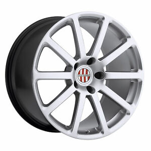 4 Victor Equipment Zehn 18x11 5x130 Silver Wheels 18 55mm Rims