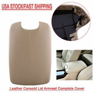 Fit 2008 2012 Honda Accord Sedan Coupe Armrest Cover Complete Kit Console Beige