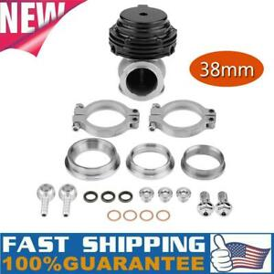 New Tial Universal 38mm Mvs Wastegate W V Band Flanges Blowoff Valve Adapter