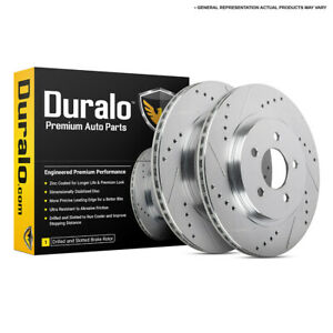 For Suzuki Sx4 2007 2012 Drilled Slotted Rear Brake Rotors Dac