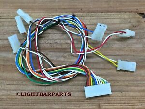 Whelen Liberty Lightbar Lc Liberty I o One Led Wire Harness Nice Part