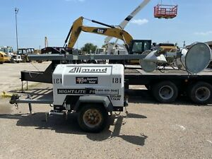 2012 Allmand Night lite Pro Ii Towable Light Tower Generator Diesel