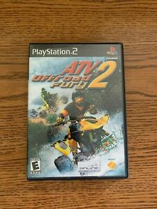 ATV Offroad Fury 2 (Sony PlayStation 2  2002) CIB w/instruction manual