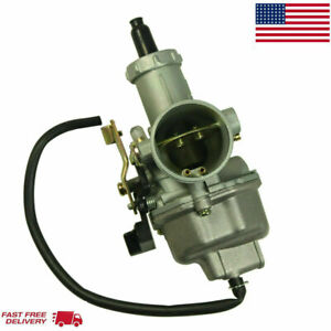 Carburetor 30mm PZ30 Carb for Taotao SunLCable Choke Dirt Bike ATV 200cc 250cc