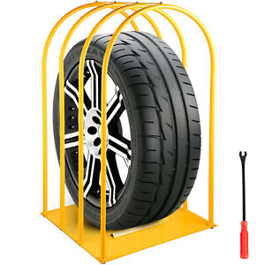 4 Bar Tire Inflation Cage Tire Cage Car Tire Inflation Tool With A Tire Changer