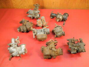 Vintage Small Engine Carburetors Hit Miss Stationary Motor Briggs And Stratton