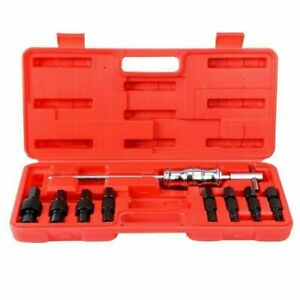 9pcs Blind Hole Inner Bearing Puller Tool Set Remover Slide Hammer Kit 8 32mm Us