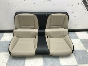 2010 2015 Camaro Ss Coupe Oem Rear Back Seats Beige Black Leather