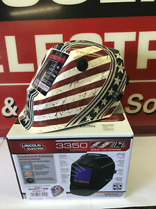 Lincoln Electric 3350 Welding Helmet Viking Daredevil K3683 4