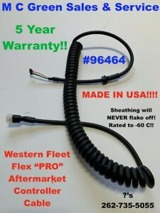 Western Fleetflex Snow Plow 4 Pin Handheld Controller Super Hd Cable 96464