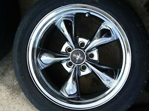 Ford Mustang Gt Chrome Rims 17