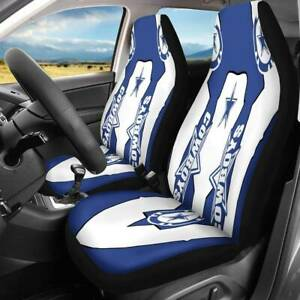 Dallas Cowboys Fans 2pcs Car Seat Covers Universal Fit Truck Seat Protector Gift