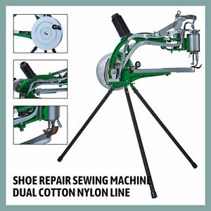 Shoe Repair Machine Making Sewing Hand Manual Cotton leather nylo Obbler Diy