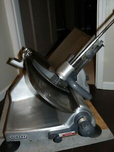Hobart Manual Deli Meat Cheese Slicer 12 Blade Model 2812 Commercial Ohio