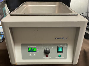 Vwr Sheldon Manufacturing Digital Water Bath 4 Amps 115v 60hz Used Working