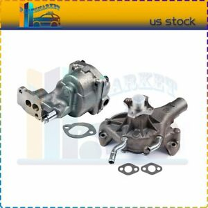 Engine Water Oil Pump For 96 04 Chevy K1500 K2500 Gmc V8 4 3l 5 0l 5 7l