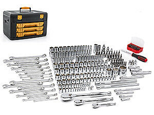 Gearwrench 80966 243 Piece 6 Point Shop Socket And Tool Set New