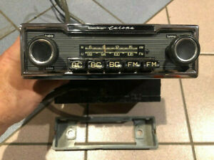 Becker Europa 12v Early Radio With Built In Amp Nice Complete Working Unit