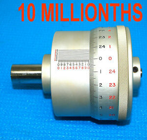 Mahr Federal 10 Millionths 0 1 Micrometer Head By Boeckeler Calibrator