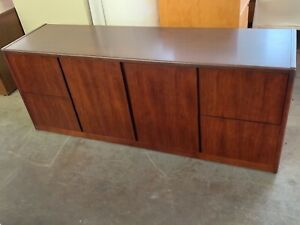 Credenza By Myrtle Office Furniture In Mahogany Wood