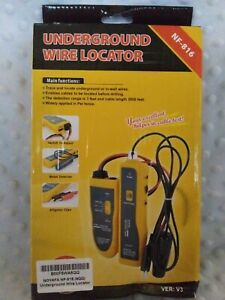 Noyafa Nf 816 c Underground Cable Wire Locator Use For Pet Fence Or In wall Wire