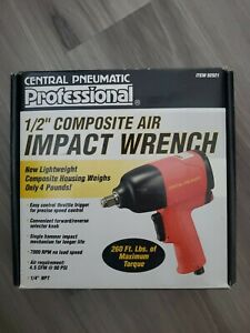 Central Pneumatic 1 2 Professional Composite Air Impact Wrench 92921 New