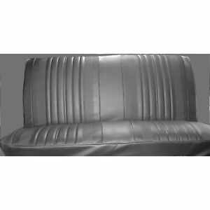 Pui 70as10b Bench Seat Cover 1970 Chevelle el Camino Black