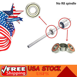 1set Milling Machine Part R8 Spindle Bearings 7207 6206 For Bridgeport Mill Us