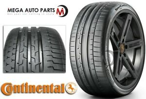 1 New Continental Sportcontact 6 295 35zr19 104y Xl Tires