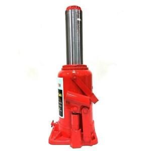 20 Ton Bottle Jack Shop Equipment Automotive Garage Lift Hoist Tools Jacks Red