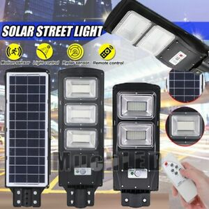 1650000LM Commercial Security Area Road Solar Street Light IP67 LED Lamp Outdoor $73.75