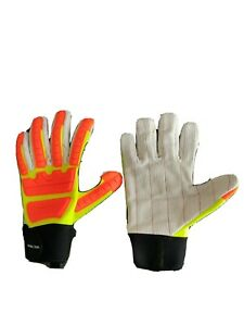New Impact Protection Heavy Duty Impact Gloves Size Large