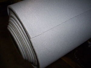 A One Auto Md Grey Automotive Headliner Upholstery Fabric Foam Backing 53 X 60