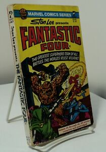The Fantastic Four by Stan Lee Pocket 81445 1977 the first 6 issues $12.99