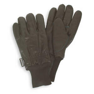 Cold Protection Gloves xl black pr Pk 12 4tjw5