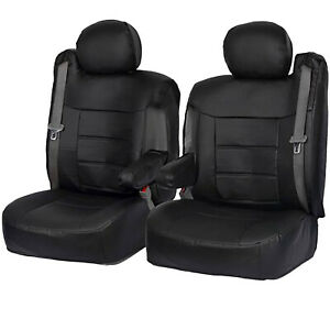 Faux Leather Seat Covers Fits Chevy Gmc Suv Trucks With Arm 2001 2006