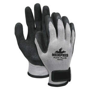 Coated Gloves cotton polyester xl pr Pk 12 9688vxl