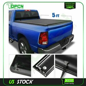 Fits For 2019 2020 Ford Ranger 5ft Short Soft Roll Up Tonneau Cover Pickup Blc