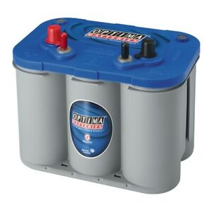 Optima 8016 103 D34m 12 Volt Blue Top Starting And Deep Cycle Marine 870 Amps