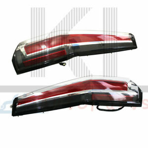 Led Rear Tail Lights Lamp For Chevrolet Tahoe Suburban 2015 2020 Cadillac Style