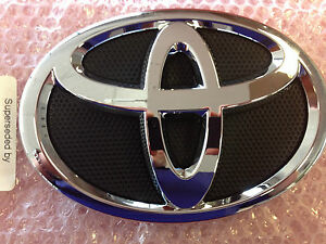 Front Grille Emblem Badge Toyota Camry 2012 2013 New Genuine Oem 75310 06010