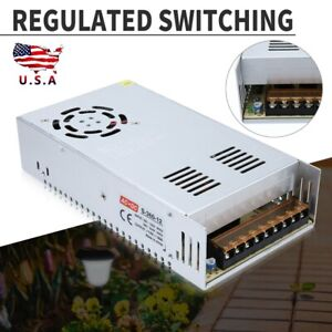 Dc 12v 30a Regulated Switching Power Supply Fits For Led Strip Light Cooling Fan