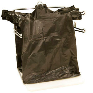Black T shirt Carry Out Thank You Bags Recyclable 100 Ct Plastic