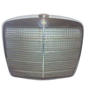 Vintage 1960 s Mercedes Benz Grill Shell With Original Badge Wall Art Man Cave