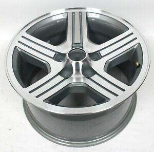1988 1990 Camaro Iroc Z 17x9 Silver Gray Wheel Rim Qty 1 Damaged