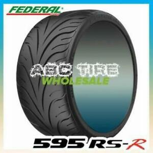 2x Federal 595rs R 215 45zr17 87w Summer Performance Sport Racing Uhp Tire