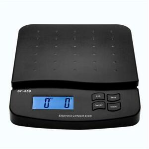 Postal Scale Digital Shipping Electronic Mail Packages Capacity 66lb W Adapter