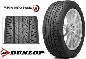 1 Dunlop Signature Hp 245 45r18 96w All Season Ultra high Performance Tires