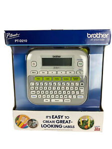 Brother P touch Pt d210 Label Maker brand New