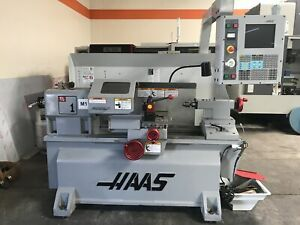 Haas Tl 1 Horizontal Toolroom Lathe 2005 Tailstock Tool Post Splashguard